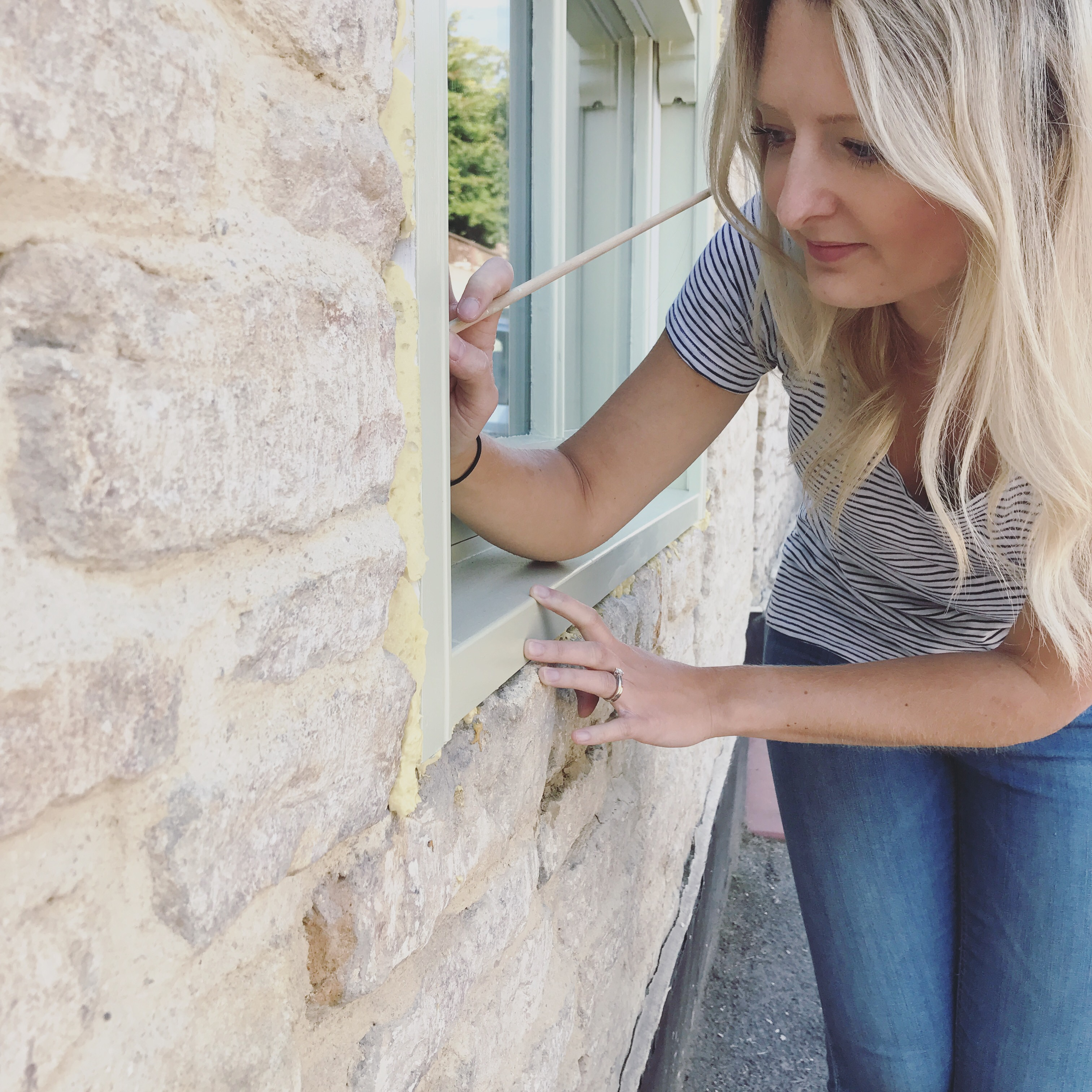 Watching Paint Dry… Valspar exterior paint to be exact